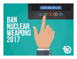 Ban nuclear weapons 2017