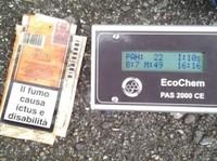 Esperienza di misurazione dell'inquinamento da IPA