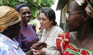 Chiara Castellani in Congo R.D.