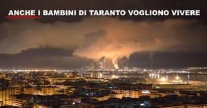 Campagna sui bambini a Taranto