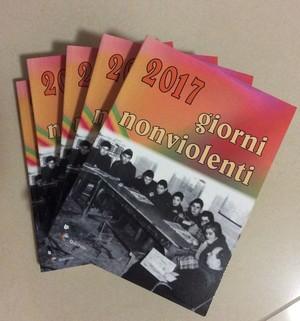 Agenda Giorni Nonviolenti 2017