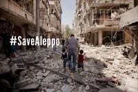 Facciamo sentire la nostra voce, facciamo la nostra parte per Aleppo