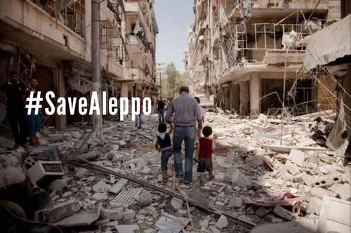#SaveAleppo