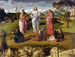 Giovanni Bellini, Trasfigurazione, 1480, Napoli, Museo di Capodimonte