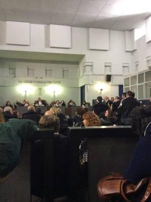 Tribunale di Taranto, udienza del 17 gennaio 2017 (su ILVA)