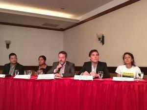 Presentazione del rapporto di Global Witness (Foto Radio Progreso)