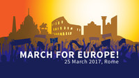 March for Europe, 25 March 2017