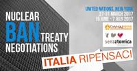 A un mese dallo storico evento Senzatomica e Rete Disarmo scrivono al Governo: partecipate ai negoziati sul disarmo nucleare