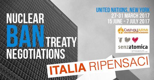 Italia ripensaci - Ban negotiations
