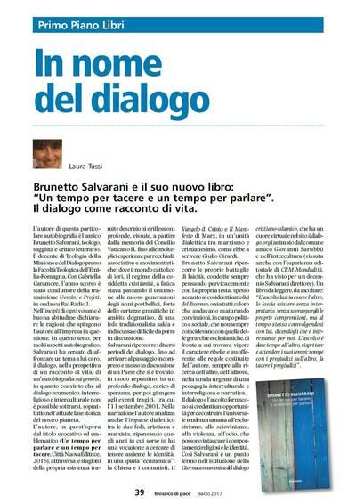 Recensione al Libro di Brunetto Salvarani
