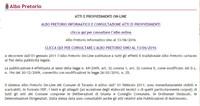 I documenti sull'Hotspot di Taranto che sul sito del Comune non ci sono più