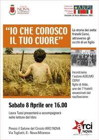 """Adelmo Cervi - """"Per non dimenticare"""" a Nova Milanese (Monza e Brianza)"""
