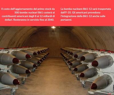 Le testate nucleari B61