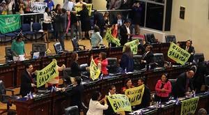 Parlamento approva legge antiminiere (Foto Cripdes)