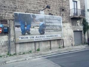 Manifesto a Taranto