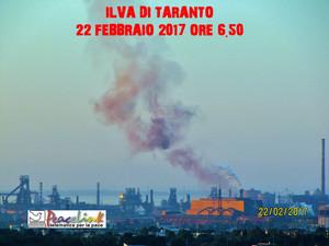 Slopping dall'Ilva di Taranto