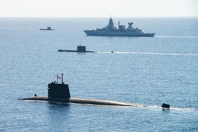 esercitazioni militari in mare