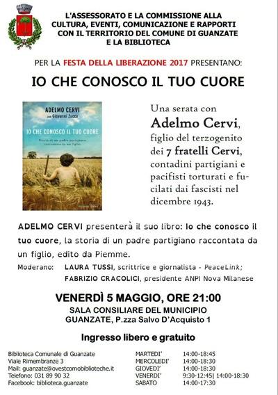 Adelmo Cervi a Guanzate (Como)