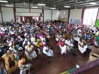 Donne indigene e nere honduregne si mobilitano in difesa della loro cultura, del territorio e dei beni comuni