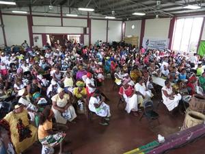 Incontro di donne indigene e nere del Conaminh (Foto G. Trucchi|Rel-UITA)