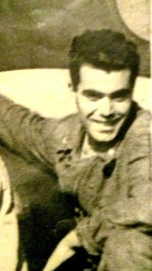 Luciano Marescotti a vent'anni