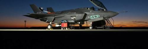 F35 night image