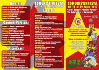 Antifascismo e Nonviolenza con Comunisti in Festa - Cornaredo 2017