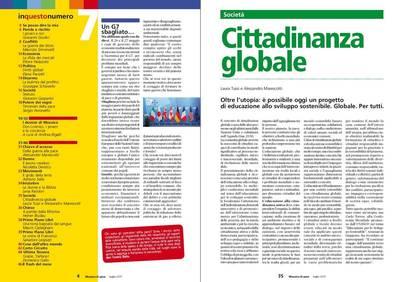 Su MOSAICO DI PACE articolo di Laura Tussi e Alessandro Marescotti