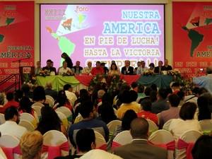 Conclusione del 23 Forum di Sao Paulo in Nicaragua
