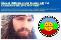 Argentina:  Santiago Maldonado è il secondo desaparecido dal ritorno in democrazia