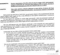 Dipendente Eni offende Arpa e Ispettori. Il Ministero diffida: inosservanza delle prescrizioni
