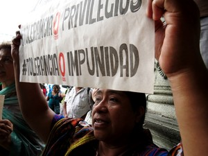 Mobilitazione contro impunità (Foto G. Trucchi | Rel-UITA)