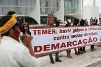 Brasile: Temer dichiara guerra agli indios