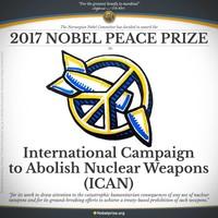 La International Campaign to Abolish Nuclear Weapons (ICAN) di cui anche Rete Italiana per il Disarmo e Senzatomica fanno parte ha vinto il premio Nobel per la Pace!