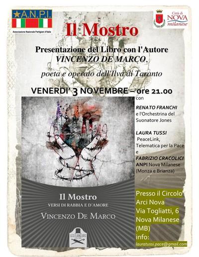 Con l'Autore Vincenzo De Marco direttamente da Taranto