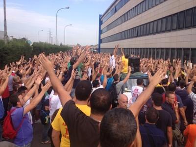 """Una manifestazione del del Comitato """"Liberi e Pensanti"""""""
