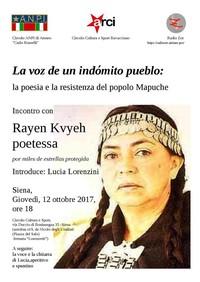 La voz de un indómito pueblo: la poesia e la resistenza del popolo mapuche