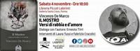 """PARMA - Rassegna """"Versi diversi"""" Vincenzo De Marco presenta """"Il Mostro"""""""