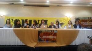 Conferenza stampa Gaipe (Foto Sandra Rodríguez)