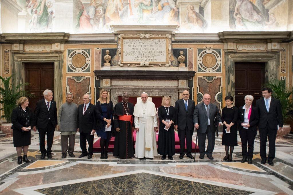 Al Vertice Vaticano, i vincitori del Nobel per la Pace sostengono che le religioni sono la chiave del disarmo nucleare