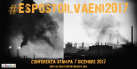 Appello a cittadini e associazioni. Sottoscrivete #EspostoIlvaEni2017