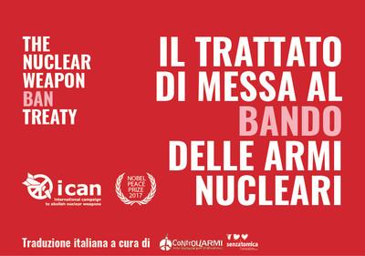 Trattato di messa al bando delle armi nucleari - Libretto ICAN