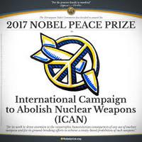 Nobel per la Pace 2017 a ICAN – cocelebrazione a Roma