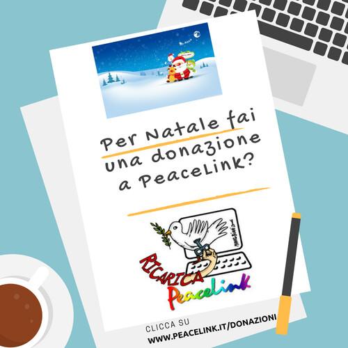 Per donare a PeaceLink clicca qui: www.peacelink.it/donazioni