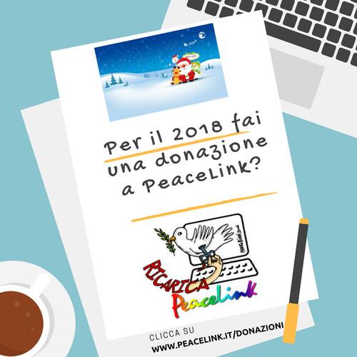 Per una donazione clicca su www.peacelink.it/donazioni