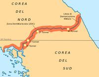 Zona demilitarizzata tra le due Coree