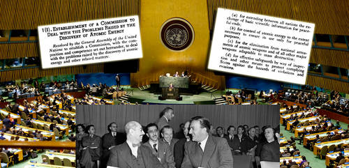 UN First Resolution - Prima risoluzione ONU - disarmo nucleare