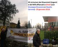 I mille del 20 gennaio a Ghedi per dire no alle guerre e si al disarmo nucleare - di Alfonso Navarra