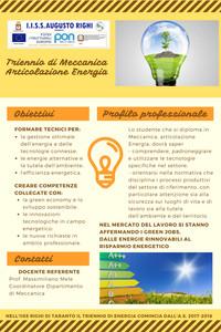 L'articolazione di Energia per la sostenibilità ambientale
