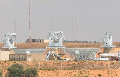 Il MUOS poco prima che i radar fossero installati